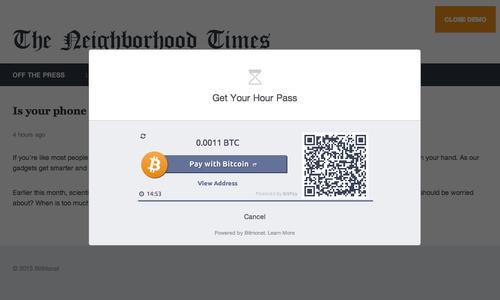 Bitmonet is an open-source software tool that lets publishers accept micropayments for news stories or other content in the virtual currency Bitcoin.
