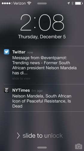 Sites like Twitter are becoming more interested in delivering the news, like The New York Times.