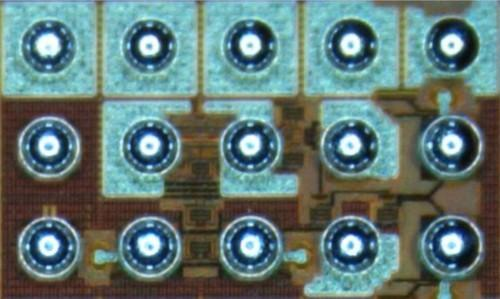 Fujitsu Laboratories has developed a receiver circuit, seen here, that can receive communications at 56 Gbps.