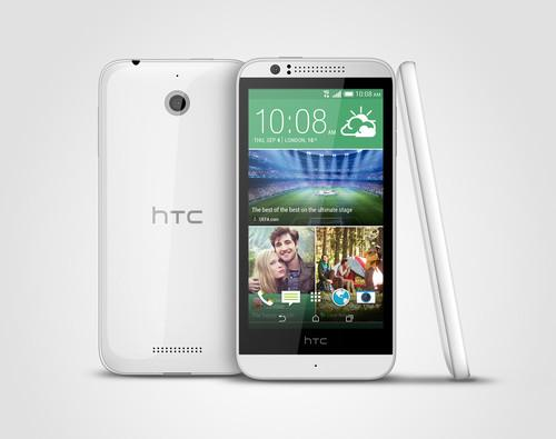 The HTC Desire 510 is powered by Qualcomm's Snapdragon 410 processor.