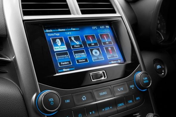 More vehicles will be connected in 2014 and use technology such as Holden's MyLink in car entertainment system. Source: Holden