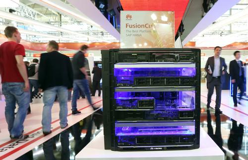 Huawei's FusionCube for HANA has 512GB of RAM.