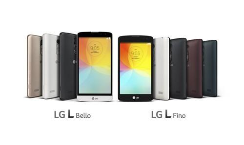 The L Bello and L Fino from LG Electronics will cost under US$200.