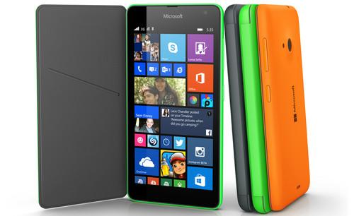 The Lumia 535 has a 5-megapixel front camera.