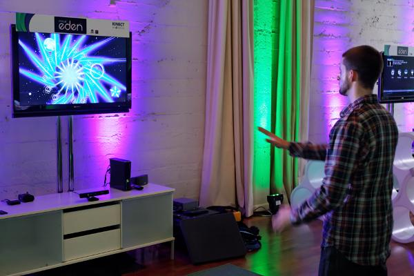 The Microsoft Kinect device