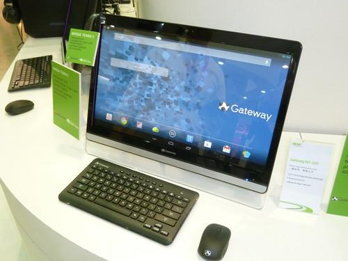 The Acer N3-220 Android desktop on show at Computex Taipei