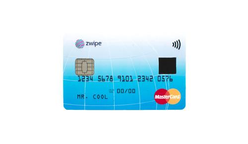 How the contactless payments card with fingerprint scanner must look in the future