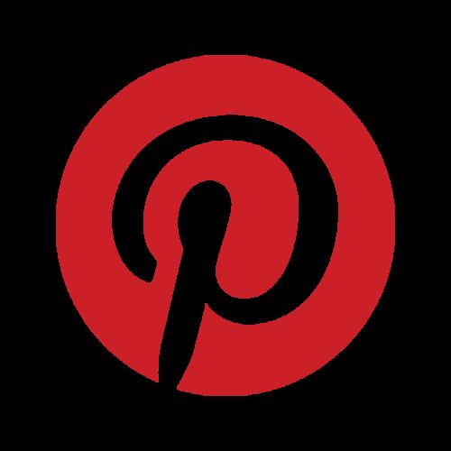 The Pinterest logo.