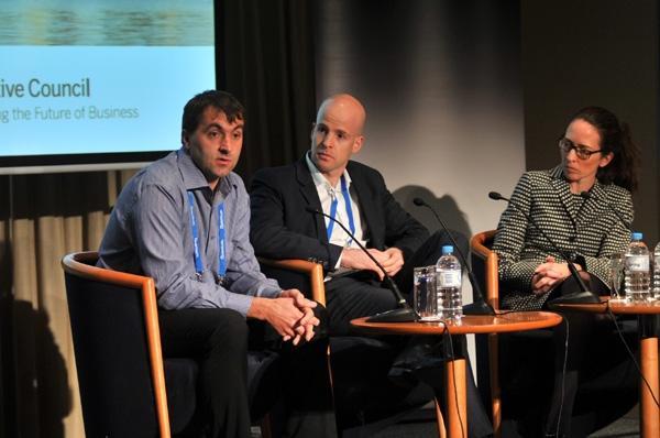 Robert Kolzan (left) discusses how NRW Holdings has dealt with shadow IT.