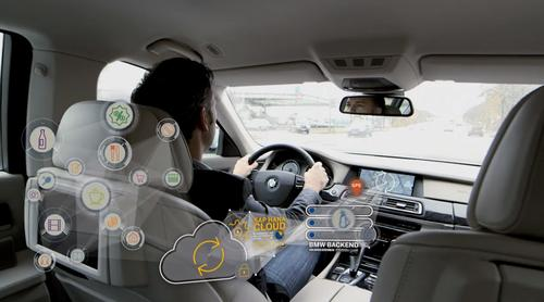 SAP and BMW are working on a system that connects drivers with real-time offers and services.