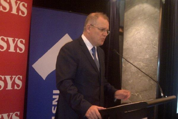Australian Minister for Immigration and Border Protection Scott Morrison. Photo credit: Hamish Barwick.