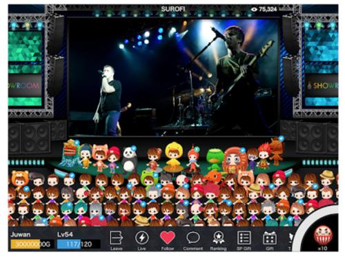 DeNA is hoping its streaming platform Showroom can appeal to users outside Japan.