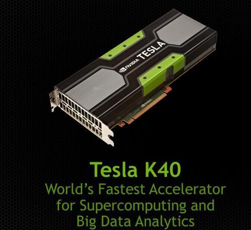 Nvidia's Tesla K40 GPU accelerator