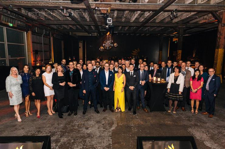 The Partner Awards was held at Shed 10, with more than 400 in attendance