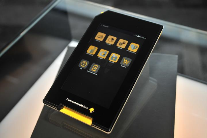 CommBank's Albert EFTPOS tablet