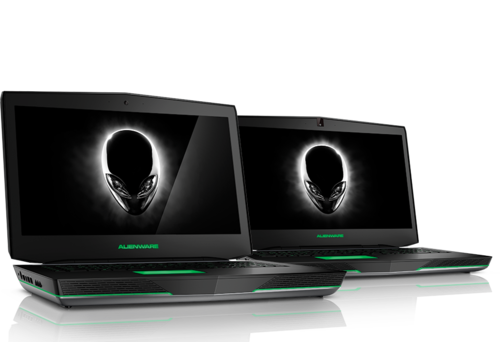 Alienware 17 and 18 gaming laptops