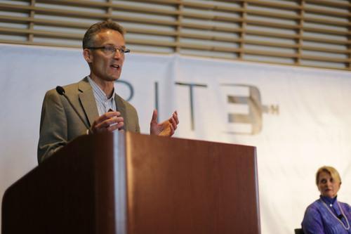 Michiel Bakker, director of Google's Global Food Program, spoke on June 5, 2015, at the BiteSV conference in Santa Clara, California.