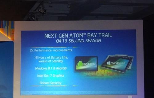 Basics on Intel's Bay Trail tablet chip