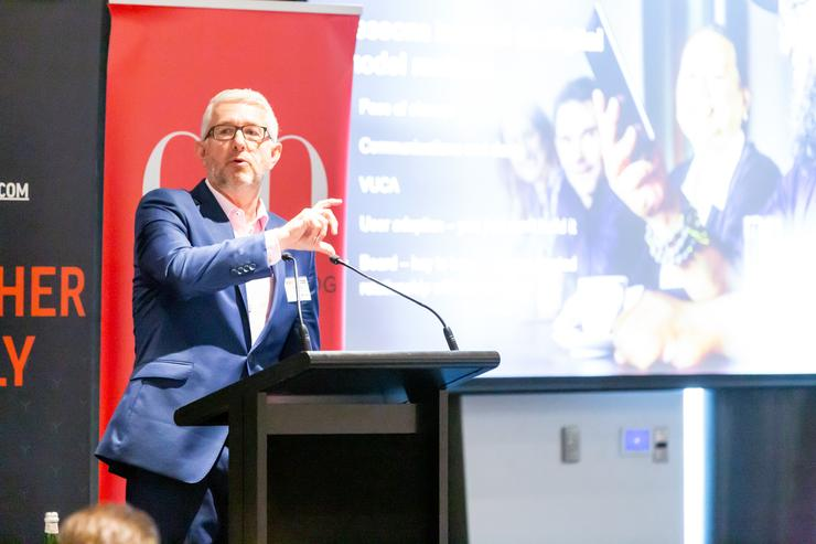 Chris Trigg @ the 2019 CIO50 event in Auckland