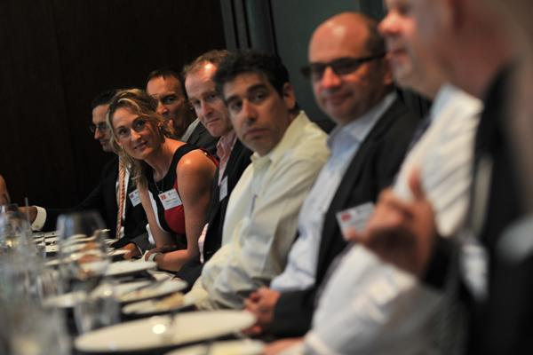 Attendees at CIOs future of security roundtable.