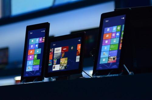 Tablets based on Intel's upcoming Bay Trail chip on show at its CES press conference Monday