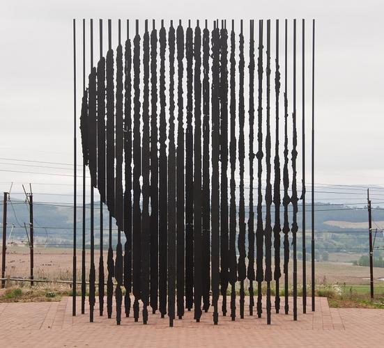 Nelson Mandela sculpture by artist Marco Cianfanelli