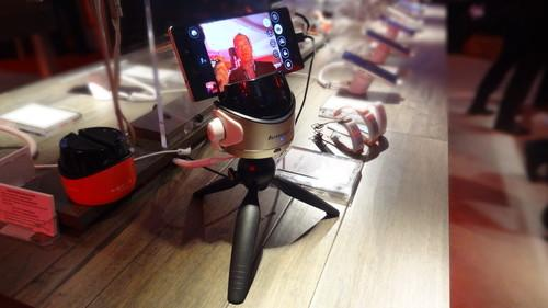 Lenovo's Fiebot robot for selfies