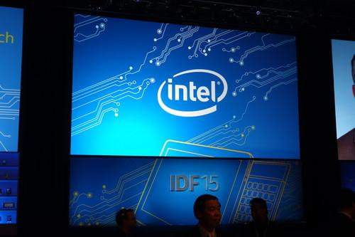 Intel is holding a developer forum in Shenzhen, China.