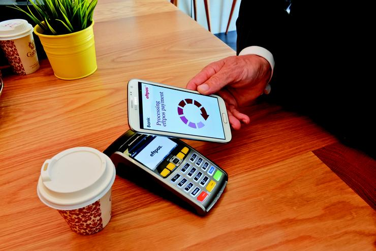 Eftpos mobile payments. Credit: Eftpos