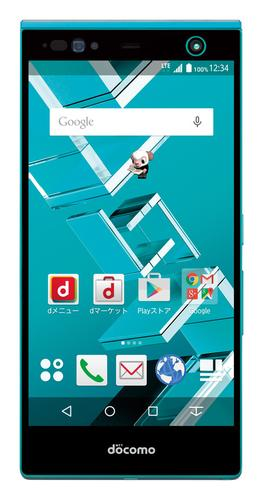 NTT DoCoMo's Arrows NX F-04G, unveiled Wednesday in Tokyo, is being billed as the first commercialized smartphone with iris authentication technology, which can also be used to authorize mobile payments.