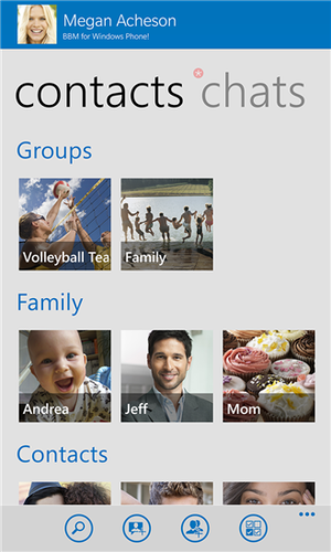 The new Facebook app for Windows Phone has integrated messaging.