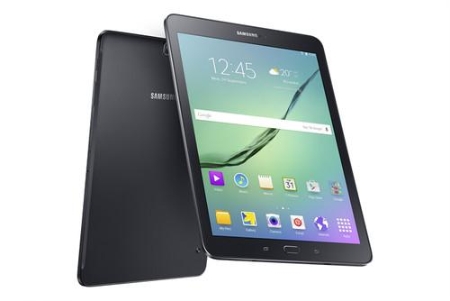 The Samsung Galaxy Tab S2 black version.
