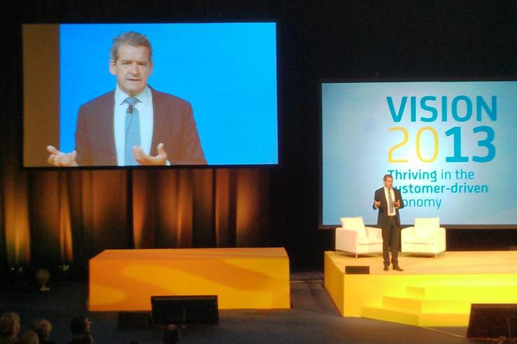 Commonwealth Bank CIO Michael Harte at Optus Vision 2013.