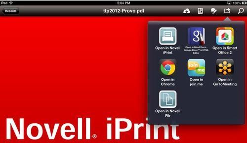 Novell iPrint