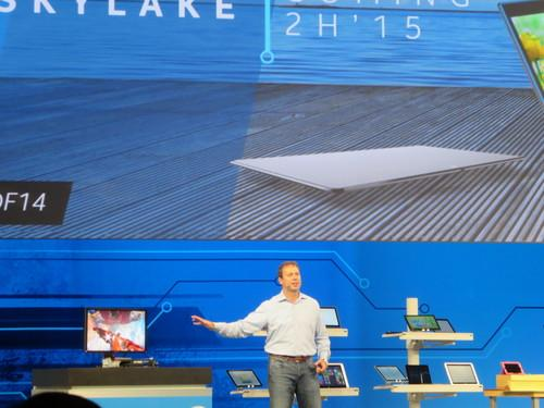 Intel shows Skylake PC