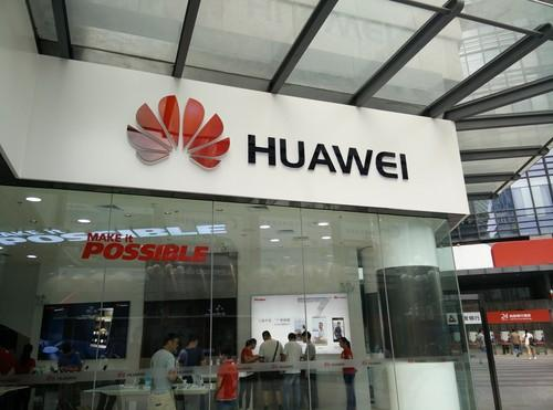 A Huawei store in Shenzhen, China.