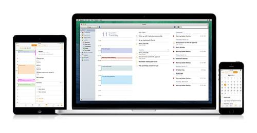 The new Marketcircle interface on Mac, iPad and iPhone