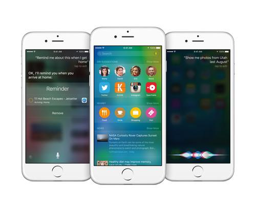 iOS 9 on iPhone 6