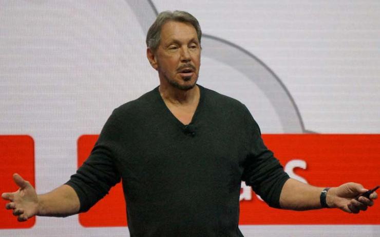 Oracle co-founder Larry Ellison