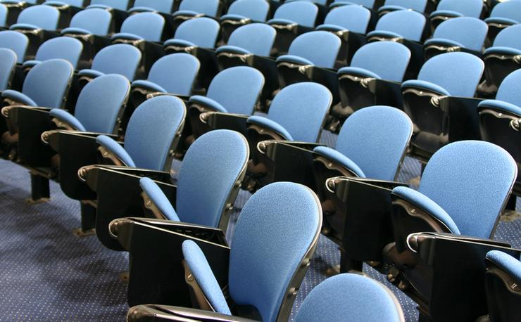 Traditional lecture theatres are disappearing, says Melbourne University's Glyn Davis