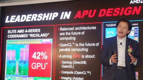 AMD's Lisa Su, senior vice president and general manager, global business units, at Computex