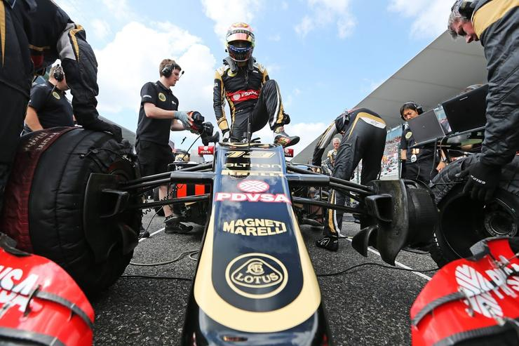 Image courtesy of Lotus F1 Team