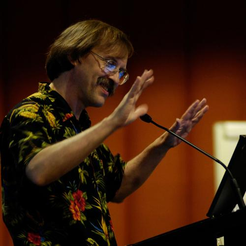 Perl creator Larry Wall
