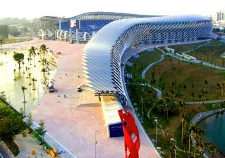 The Main Stadium in Kaohsiung City