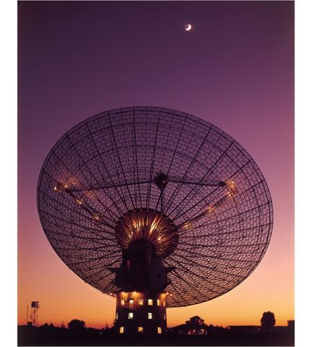 The Parkes telescope around the time of the Apollo 11 Moon landing in 1969: image CSIRO