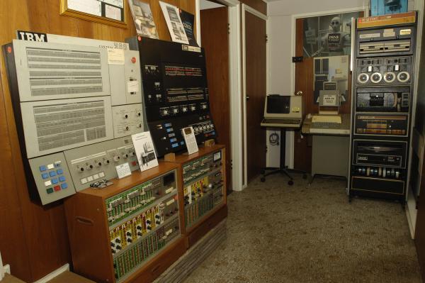 The EIA 180, IBM's 360/30 mainframe and DEC PDP-8/e.