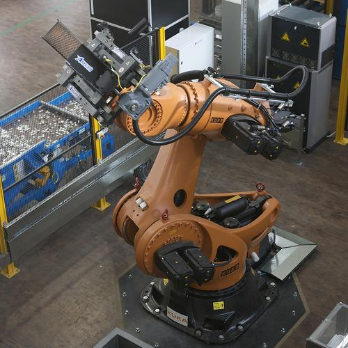 The Kuka Titan robot