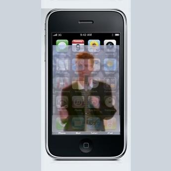 First Iphone Worm Spreads Rick Astley Wallpaper Cio