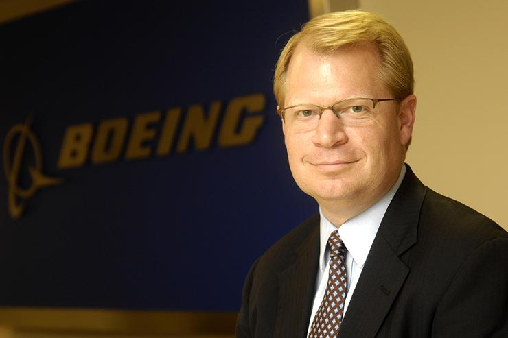 Boeing's global CIO John M. Hinshaw
