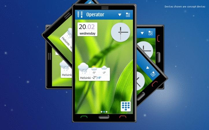 A concept for Symbian's new UI